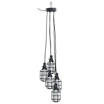 Edison 5-Light Cage Pendant