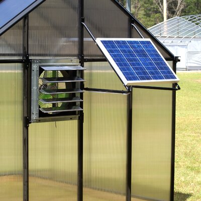 Monticello Solar Powered Ventilation System Mont-Solar