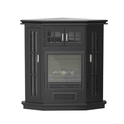 GRANVILLE 43 IN. CONVERTIBLE ELECTRIC FIREPLACE IN ANTIQUE