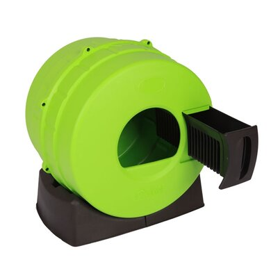 Endymion Quick Clean Cat Litter Box Color: Green