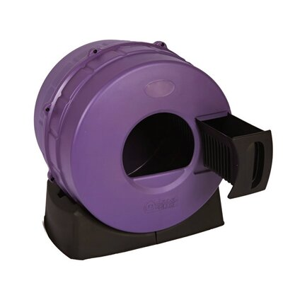 Quick Clean Cat Litter Box Color: Purple