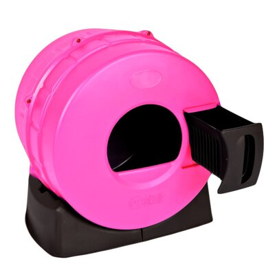 Quick Clean Cat Litter Box Color: Hot Sparkle Pink