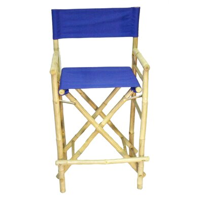 28 Bar Stool Upholstery: Blue