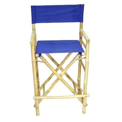 28 Bar Stool Upholstery: Blue