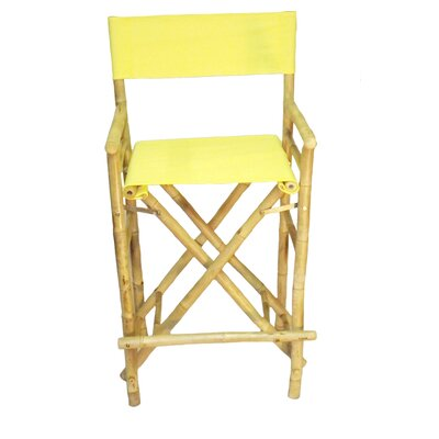 28 inch Bar Stool Upholstery: Yellow