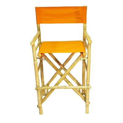 28 Bar Stool Upholstery: Orange