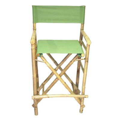28 Bar Stool Upholstery: Green