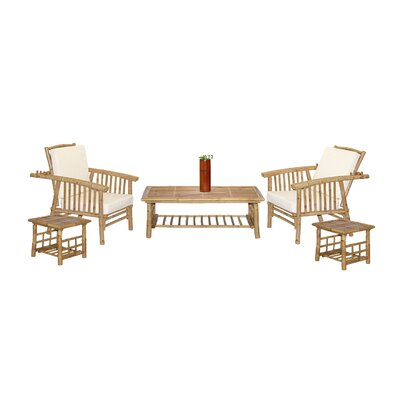 Mikong 6 Piece Coffee Table Set