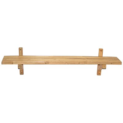 Bamboo Single Wall Shelf