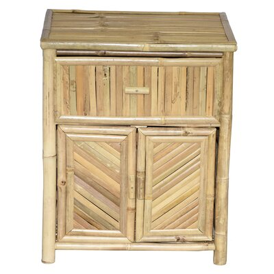 Bamboo 1 Drawer Night Stand