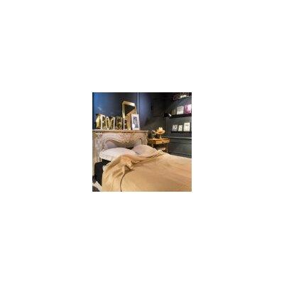 Nuage Waffle Weave Merino Wool Blanket Size: King