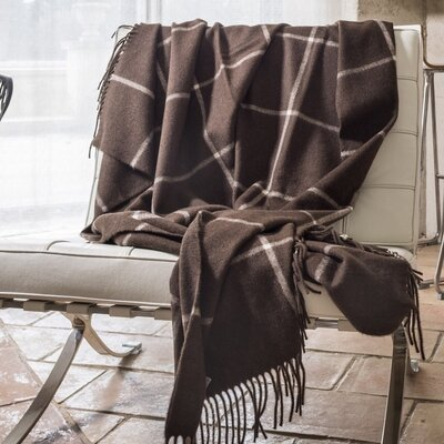 Masculine Elegant Yak Throw