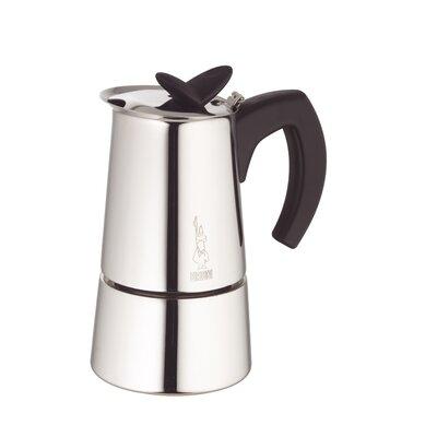 Musa Stovetop Espresso Maker Size: 6 cup 06956