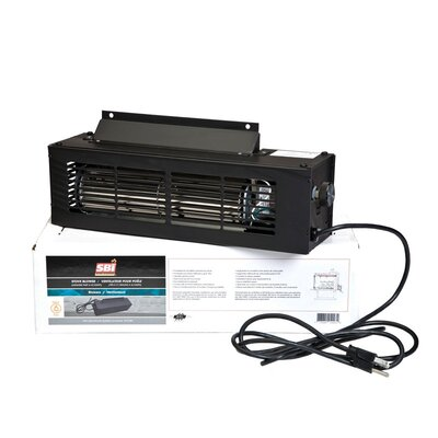 Credit for Ultra-Quiet 130 CFM Blower with Var...