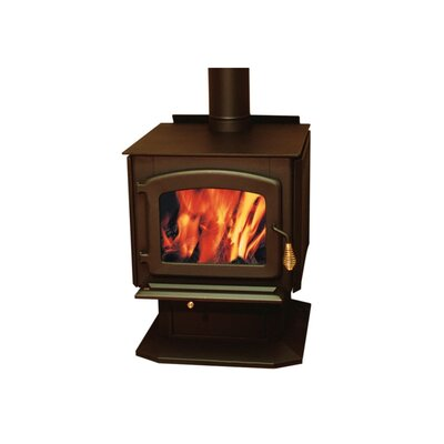 Drolet Baltic Wood Stove on Pedestal