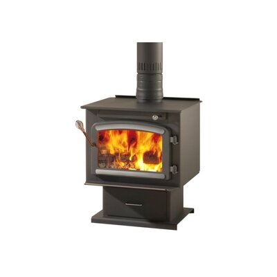 Classic Wood Stove on Pedestal