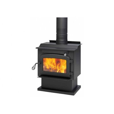 Pyropak Wood Stove on Pedestal