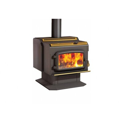 Drolet HT2000 Wood Stove on Pedestal