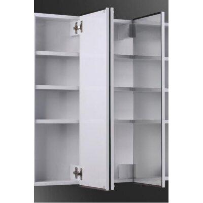 Tri-View 60 X 36 Recessed Medicine Cabinet