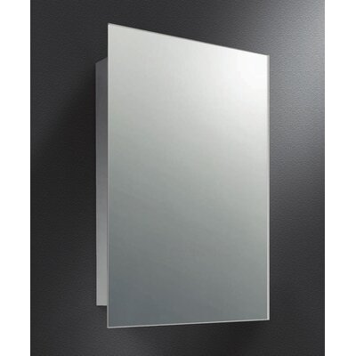 15 x 26.44 Surface Mount Medicine Cabinet Finish: Satin Finish Stainless Steel