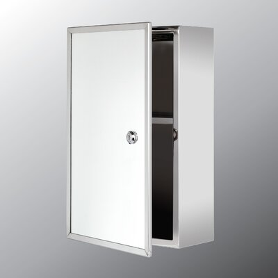 9.87 x 15.75 Surface Mount Medicine Cabinet