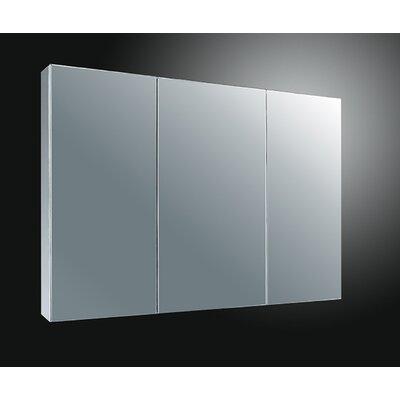 37 x 22 Surface Mount Medicine Cabinet Finish: Satin Finish Stainless Steel
