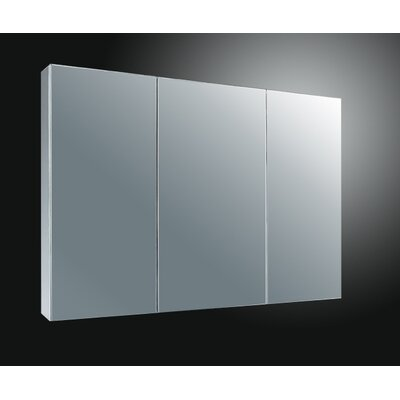37 x 22 Surface Mount Medicine Cabinet Finish: Satin Finish Stainless Steel