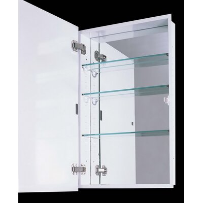 "Euroline II Series 18"" x 36"" Surface Mounted Medicine Cabinet"
