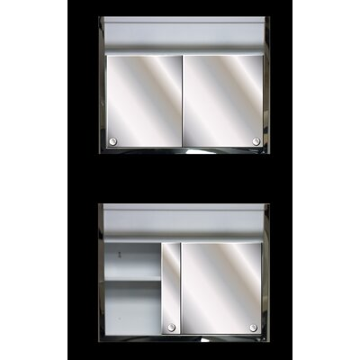 24 x 19.38 Surface Mount Medicine Cabinet with Lighting