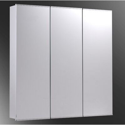 "Tri-View 48"" x 36"" Surface Mounted Medicine Cabinet"
