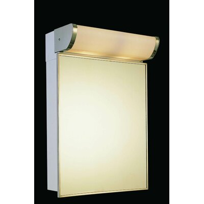 Deluxe Series 16 x 33.25 Surface Mount Medicine Cabinet with Lighting