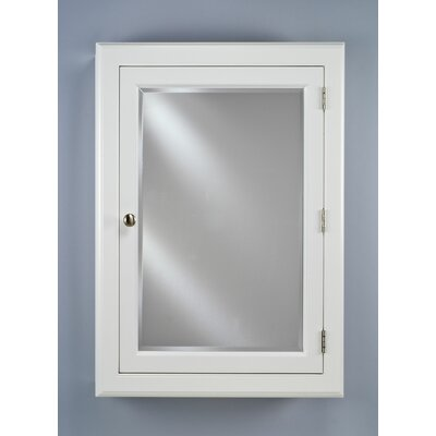 Devon I 22 x 29.13 Recessed or Surface Mount Medicine Cabinet Finish: White