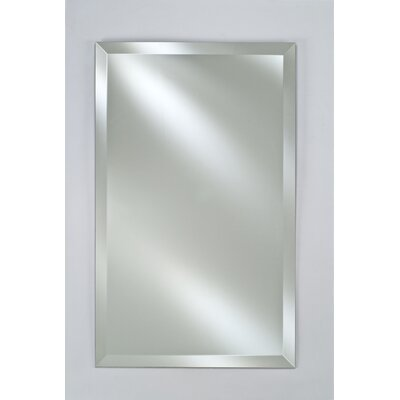 Basix 16 x 26 Recessed Medicine Cabinet Finish: Brushed Silver