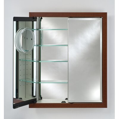 Signature 31 x 36 Recessed Medicine Cabinet Finish: Regal Antique Silver