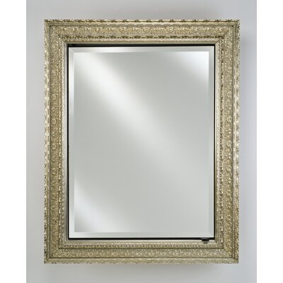 Signature 20 x 26 Recessed Medicine Cabinet Finish: Valencia Antique Silver