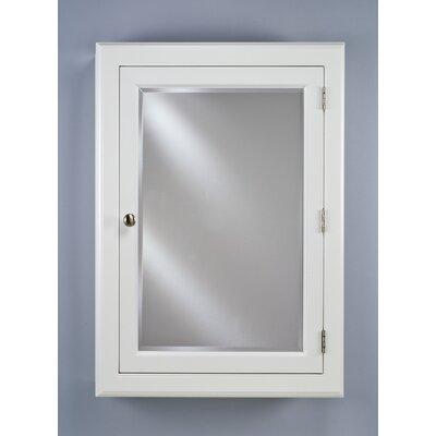 Style Of Mirrored Medicine Cabinet : ... Price Afina Devon I Small Single Door Medicine Cabinet Finish: White