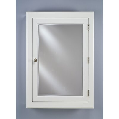 Devon I 25.25 x 33 Recessed Medicine Cabinet Finish: White