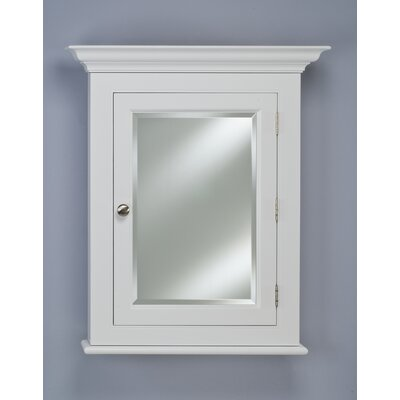 "Wilshire II 25.75"" x 30.13"" Semi Recessed Medicine Cabinet Finish: White"