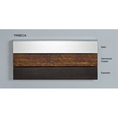 Signature 47 x 40 Recessed Medicine Cabinet with Lighting Finish: Tribeca Espresso