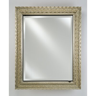 Signature 24 x 30 Recessed Medicine Cabinet Finish: Parisian Antique Silver