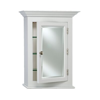 Wilshire I 25.75 x 30.13 Surface Mount Medicine Cabinet Finish: White