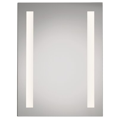 Illume LED Backlit 24? x 30? Recessed Medicine Cabinet with LED Lighting Orientation: Hinge Right
