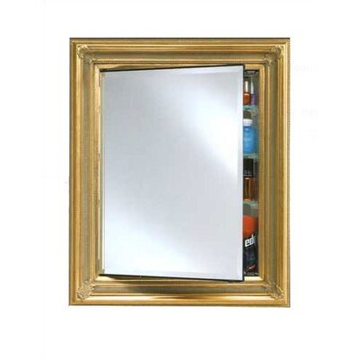 "Vanderbilt 34"" x 28"" Recessed Medicine Cabinet Finish: Gold"