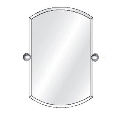 "Radiance Tilt Double Arch Frameless Wall Mirror Size: 38"" H x 24"" W x 3.5"" D"