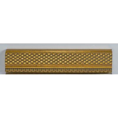 "Signature Plain Mirror Finish: Elegance Gold, Size: 24"" X 36"""
