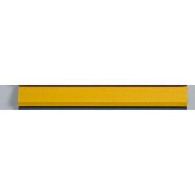 """Signature Plain Mirror Finish: Colorgrain Yellow, Size: 20"""" X 30"""""""