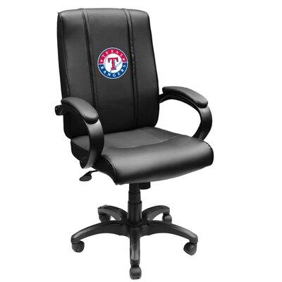 XZIPIT MLB High-Back Office Chair with Arms - MLB Team Logo: Texas Rangers