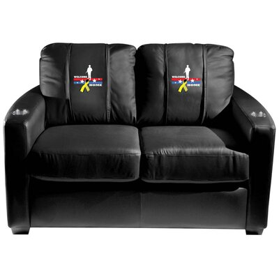 XZ130111SVLSBK56412 XUE1685 XZIPIT Armed Forces Loveseat Armed Forces Logo