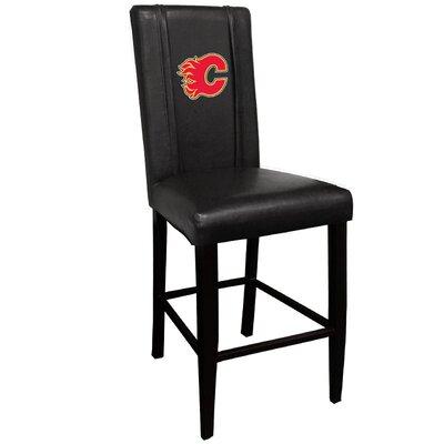 NHL 30 Bar Stool NHL Team: Calgary Flames - Red