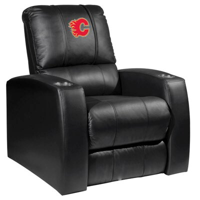 Relax Manual Recliner NHL Team: Calgary Flames - Red